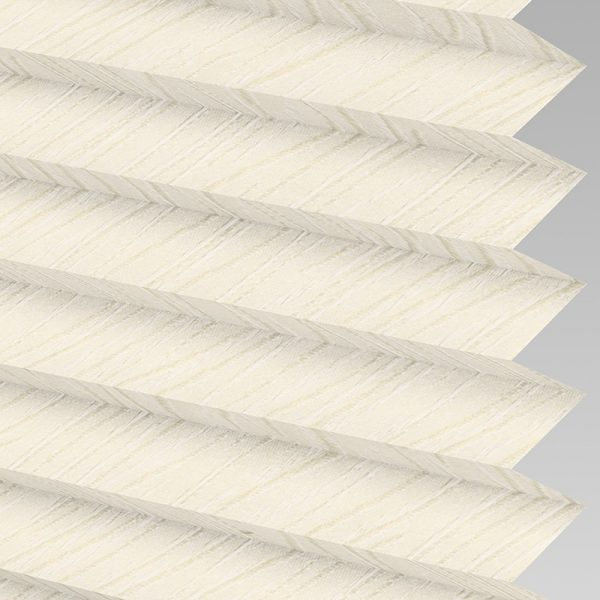 Chenille ASC Cream Pleated Blind