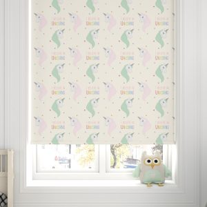 Unicorn Roller Blinds Green